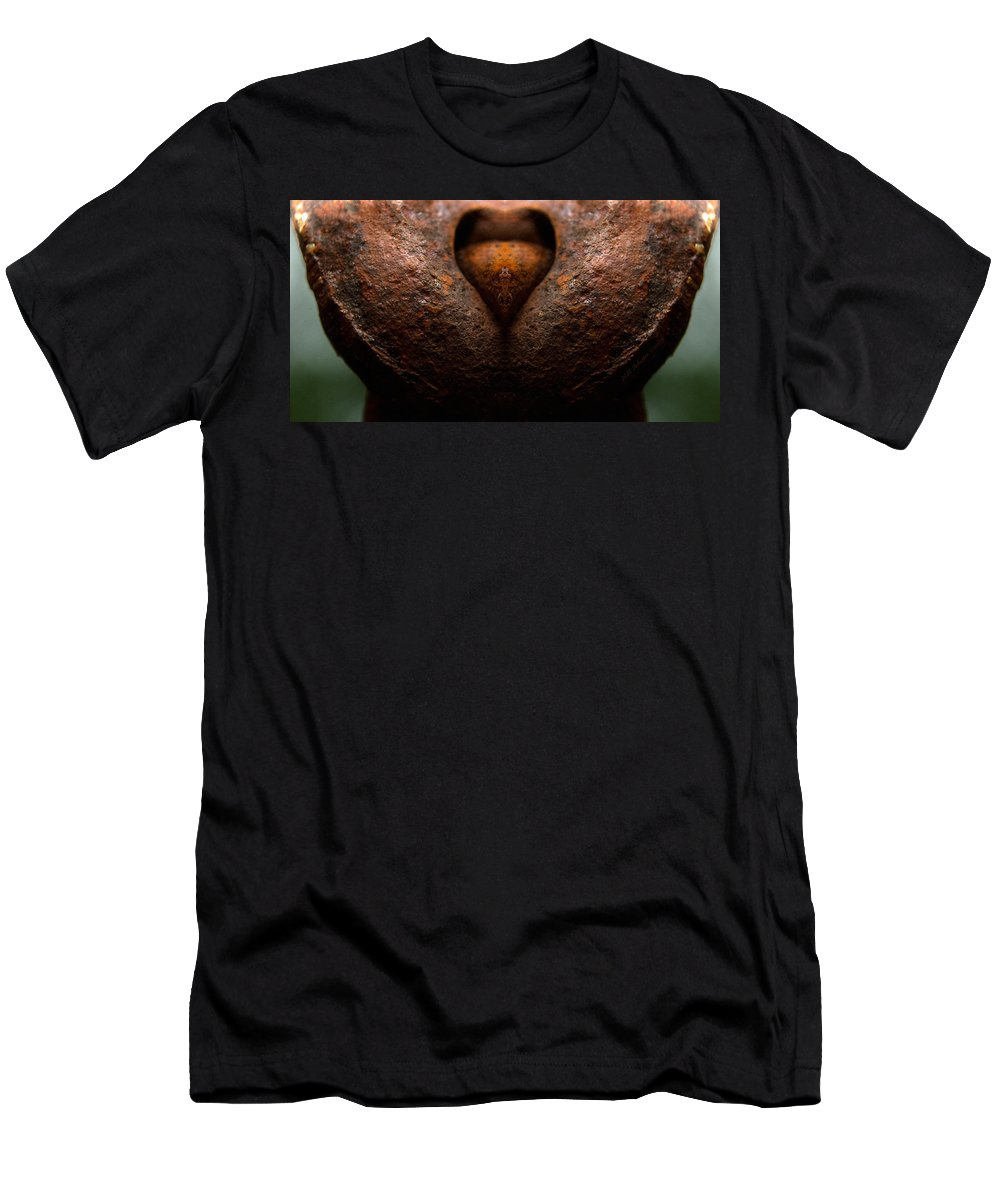 Rust Men's T-Shirt (Athletic Fit) featuring the photograph Deep Rust by WB Johnston