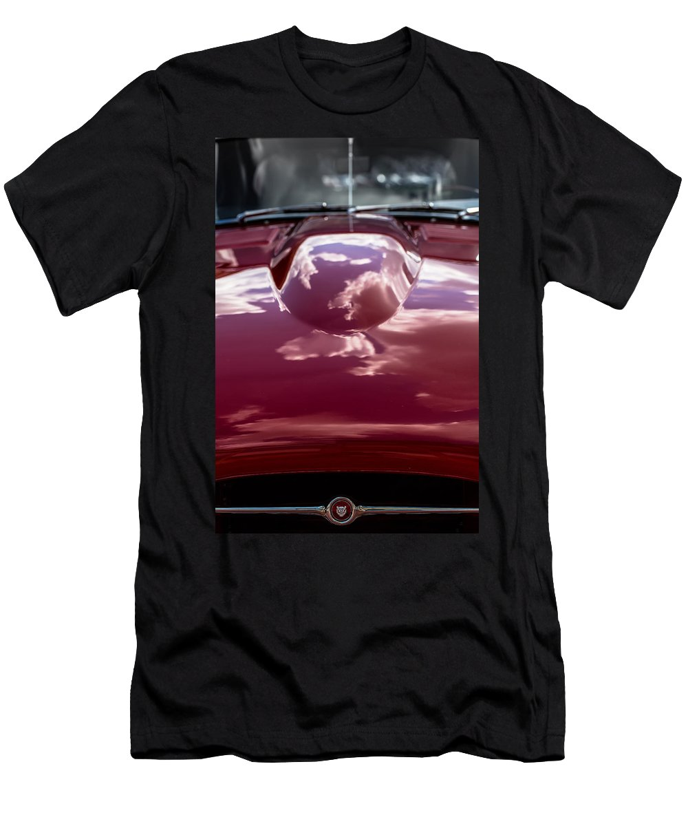 Automobile Men's T-Shirt (Athletic Fit) featuring the photograph E-type by Edgar Laureano