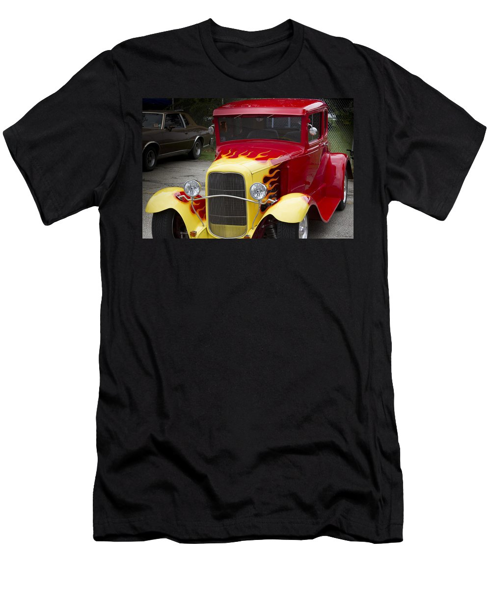 American Men's T-Shirt (Athletic Fit) featuring the photograph Fire Away by Jack R Perry