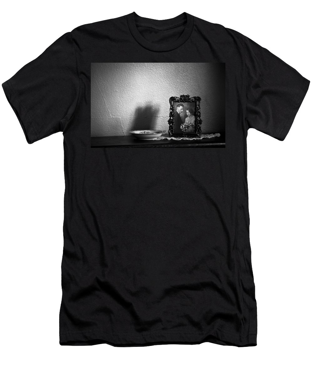 Blumwurks Men's T-Shirt (Athletic Fit) featuring the photograph For Better For Worse by Matthew Blum