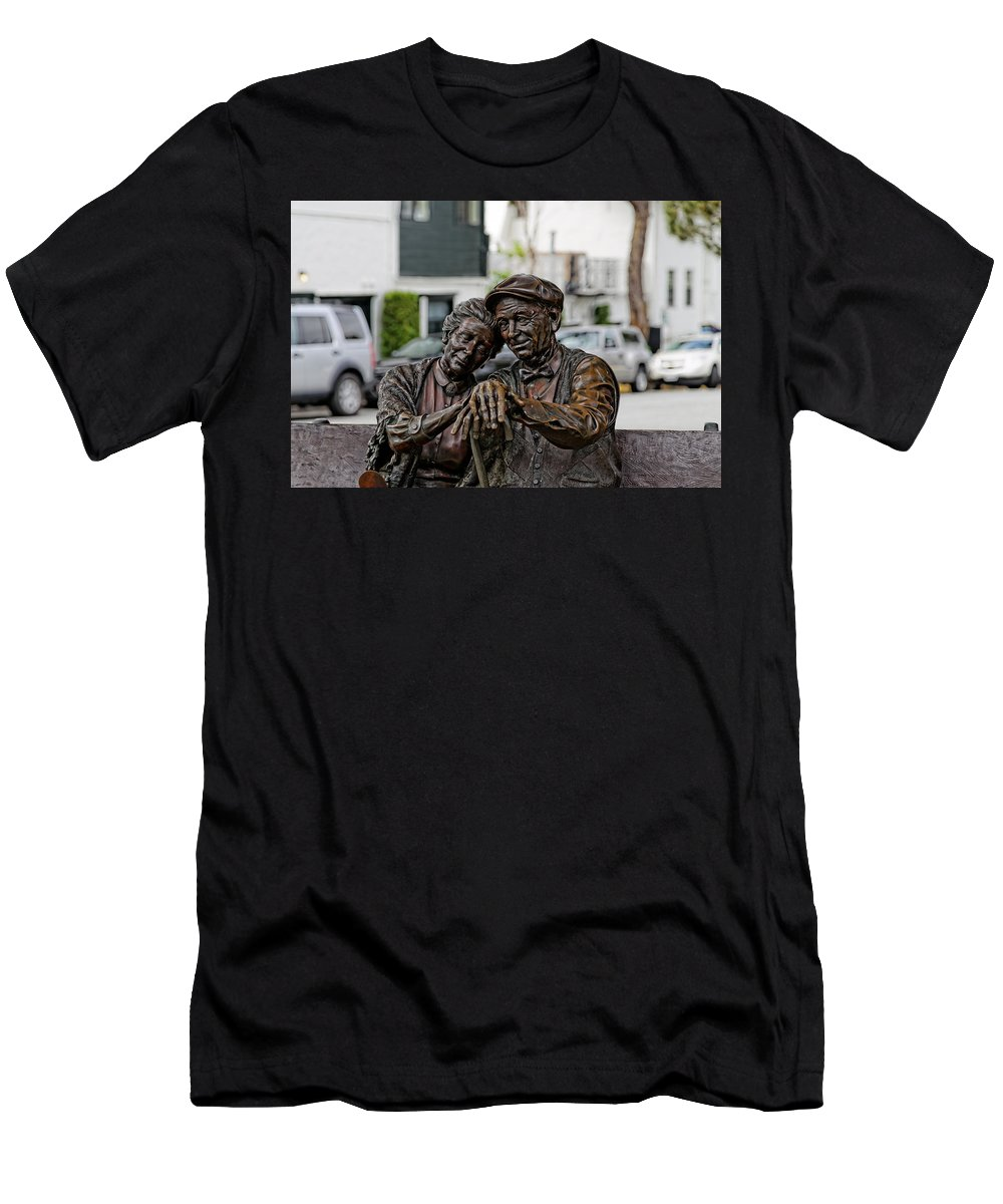 Love Men's T-Shirt (Athletic Fit) featuring the photograph Forever Young by Scott Hill