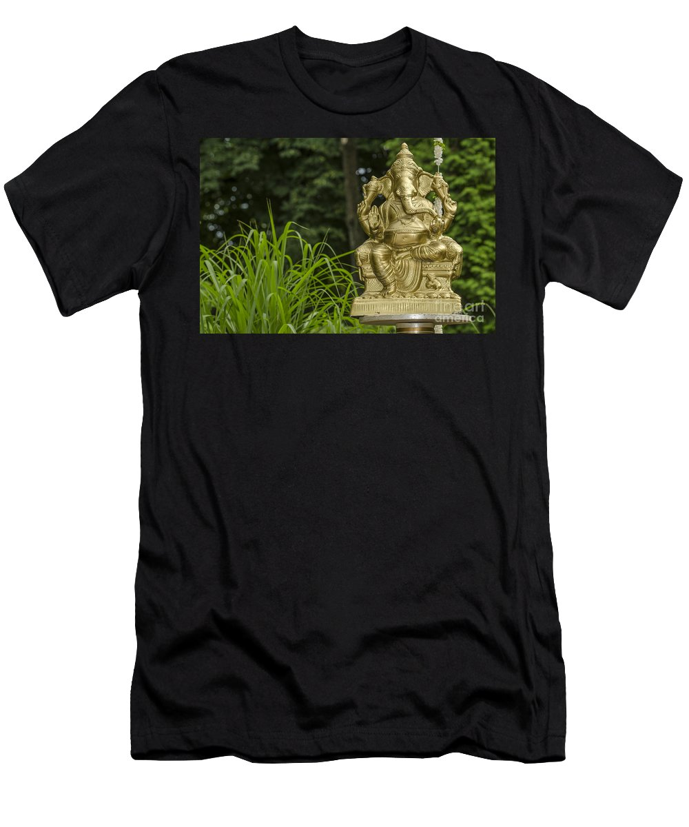Ganesha Men's T-Shirt (Athletic Fit) featuring the photograph Ganesha by Valerie Rosen