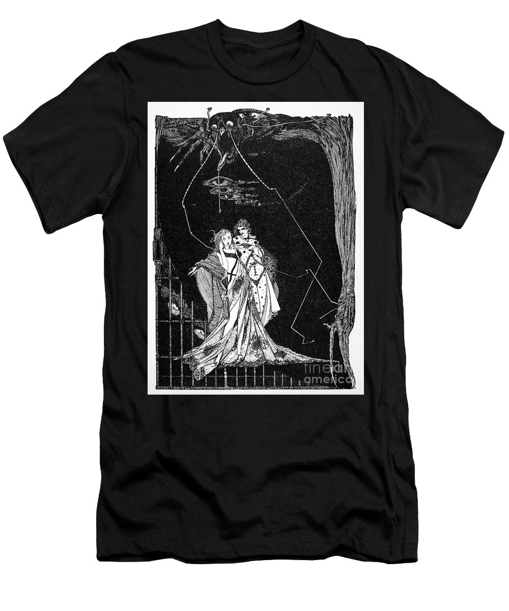 18th Century Men's T-Shirt (Athletic Fit) featuring the photograph Goethe: Faust by Granger