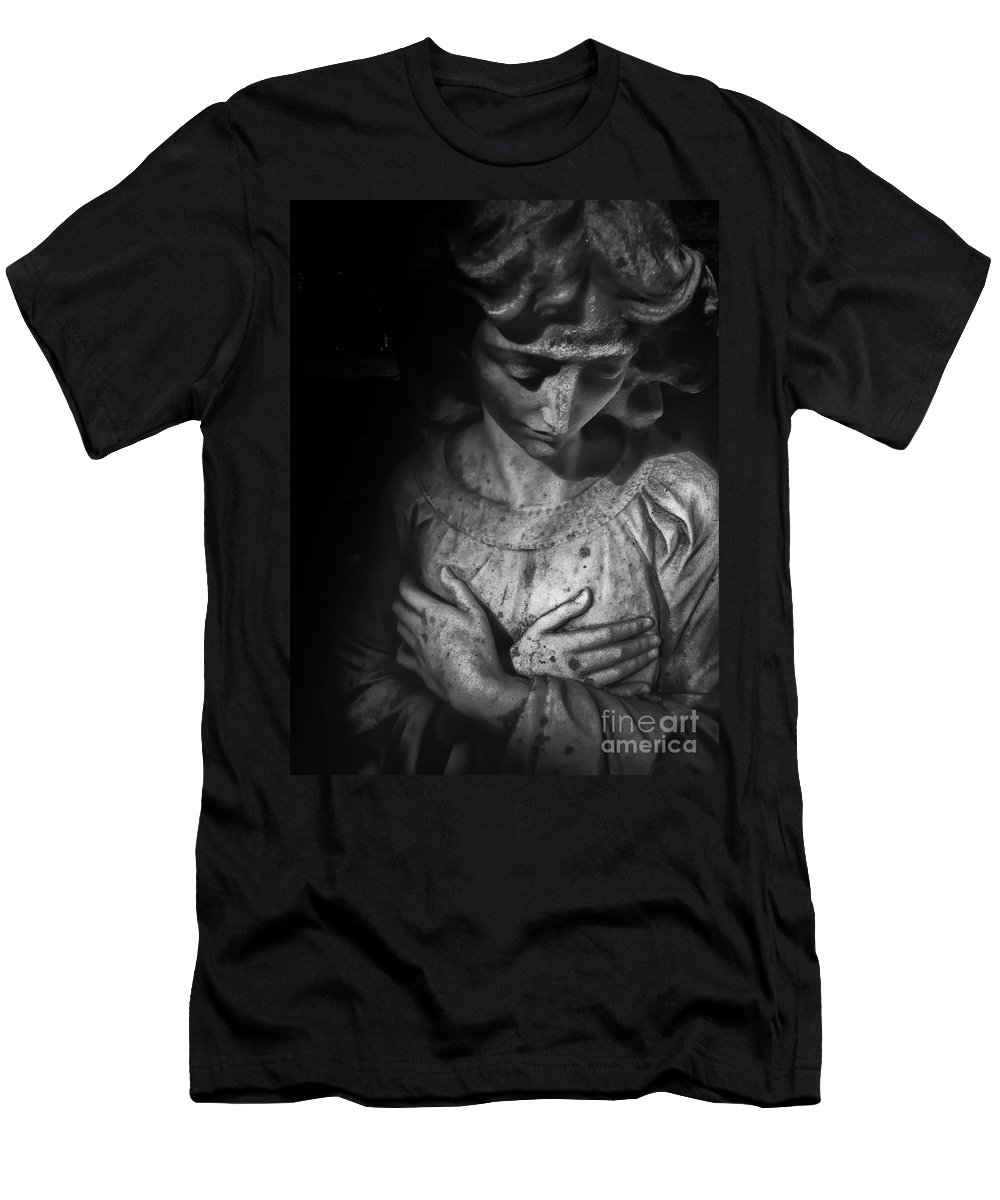 Men's T-Shirt (Athletic Fit) featuring the photograph Grief by Scott Thorp