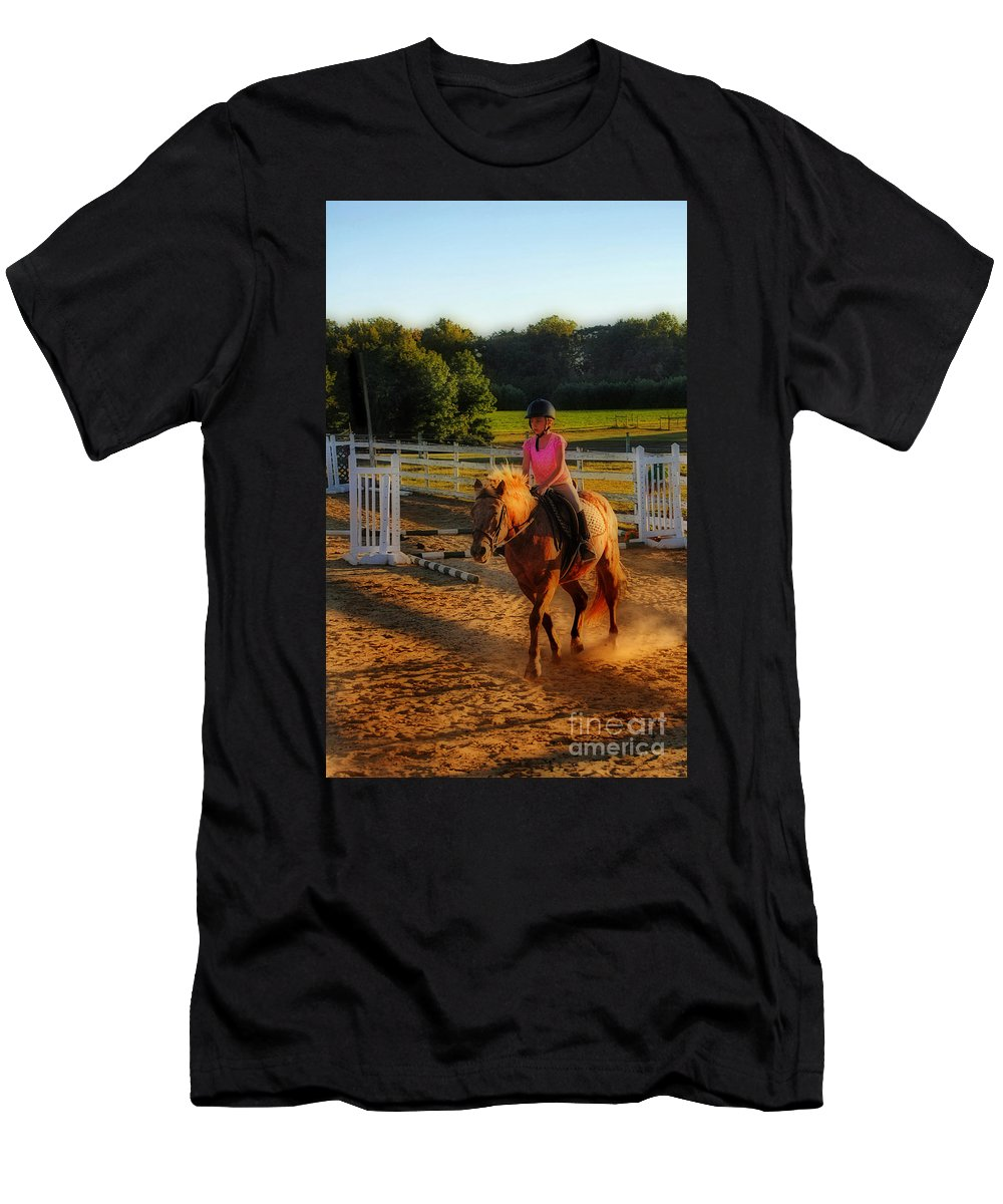 Nature Men's T-Shirt (Athletic Fit) featuring the photograph Lessons by Skip Willits