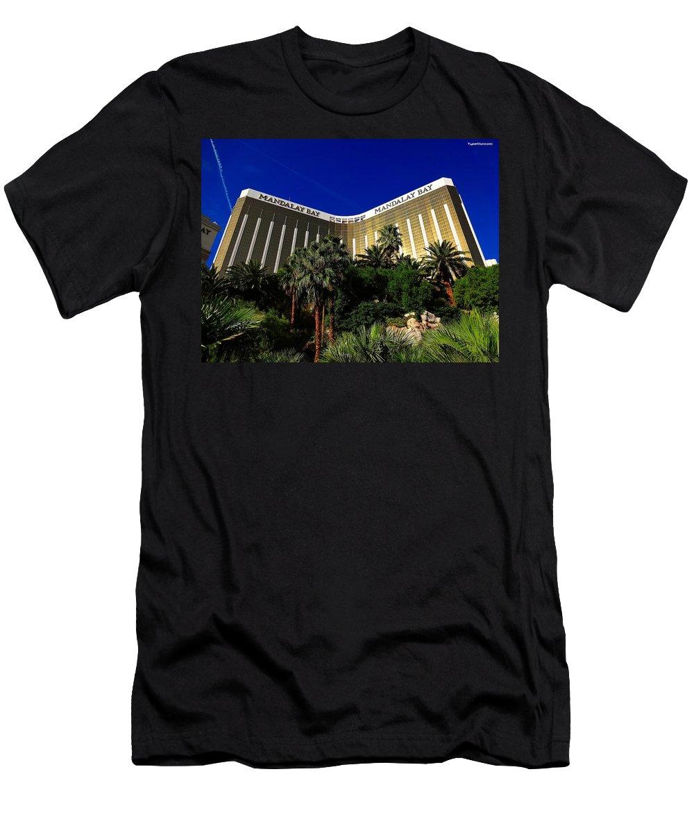 Mandalay Bay Men's T-Shirt (Athletic Fit) featuring the photograph Mandalay Bay by James Markey