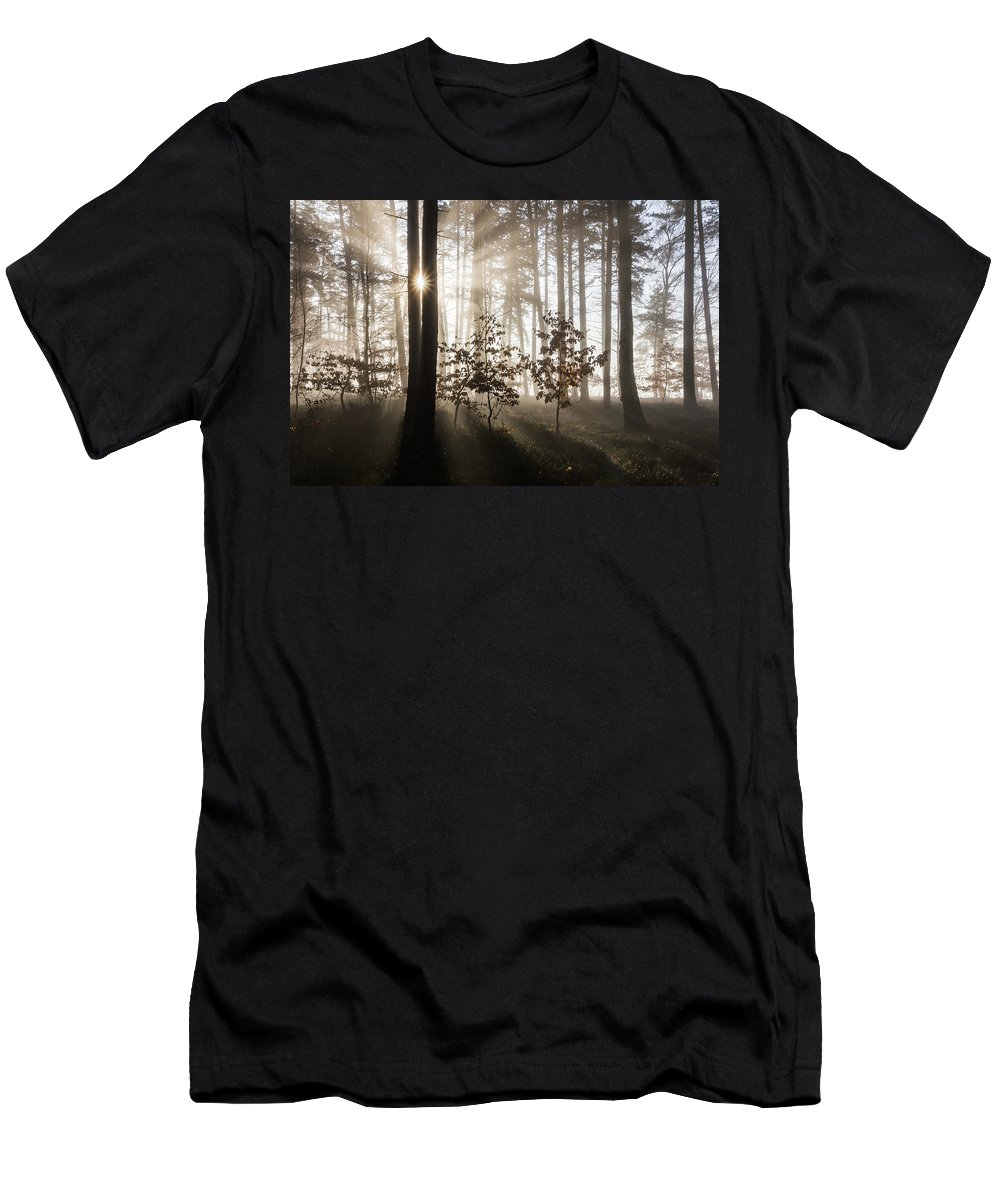 Morning Men's T-Shirt (Athletic Fit) featuring the photograph Morning Dream by Jan Stria