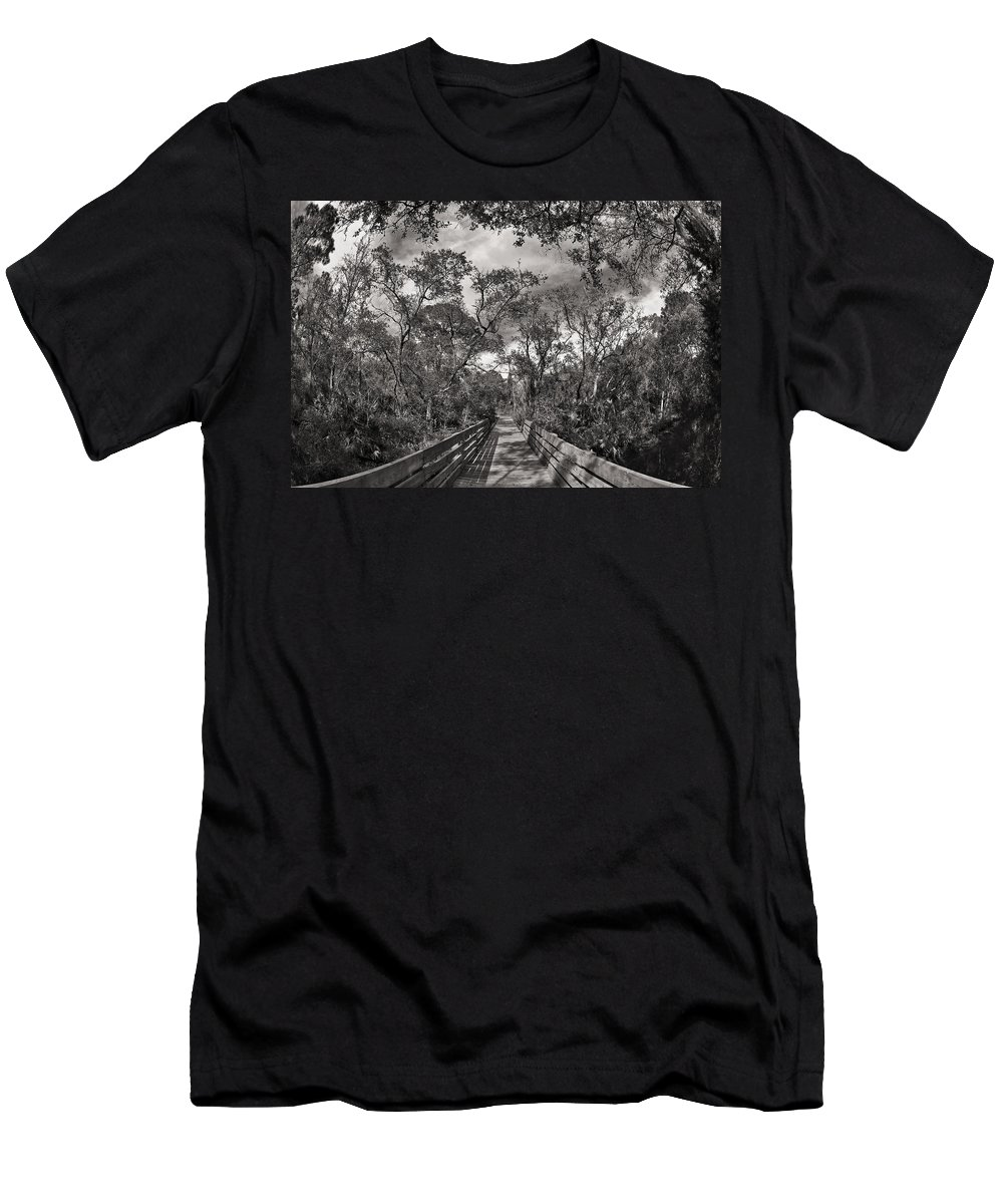 Florida Men's T-Shirt (Athletic Fit) featuring the photograph Nature Preserve by Raul Rodriguez