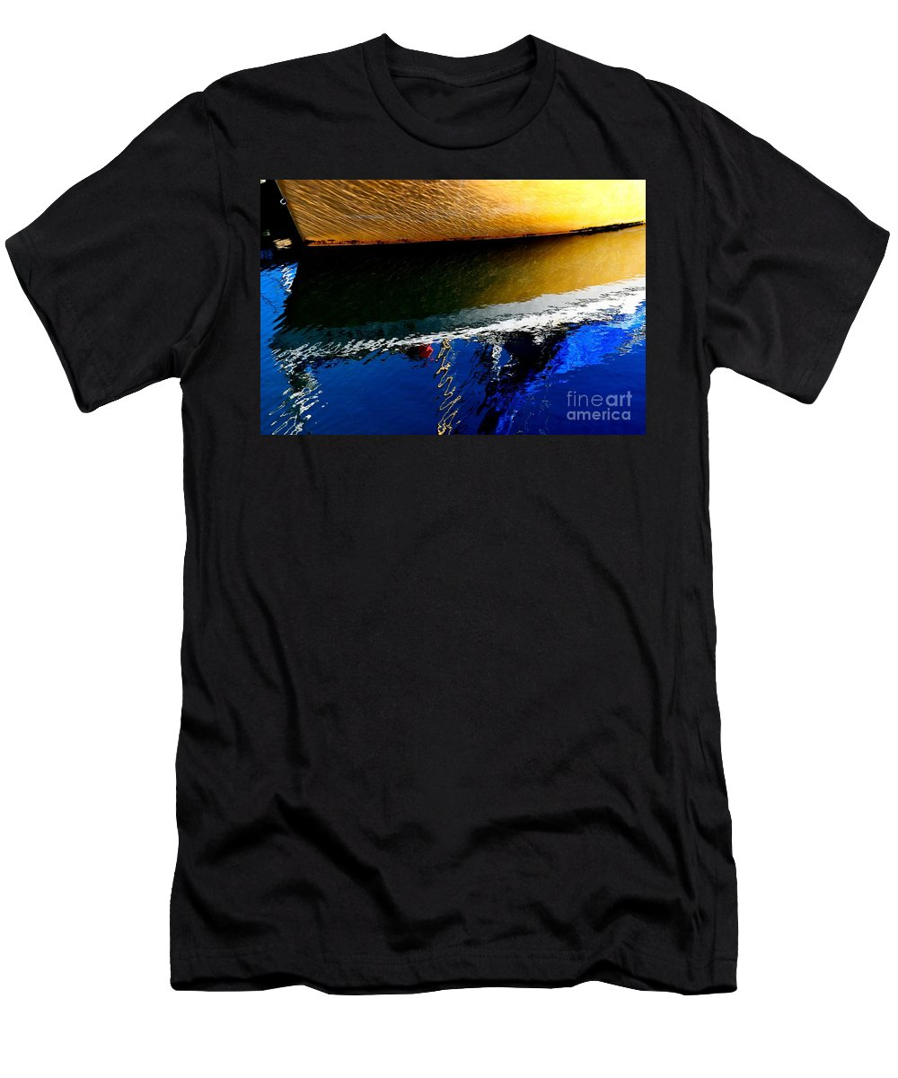 Abstract Men's T-Shirt (Athletic Fit) featuring the photograph New Day by Lauren Leigh Hunter Fine Art Photography