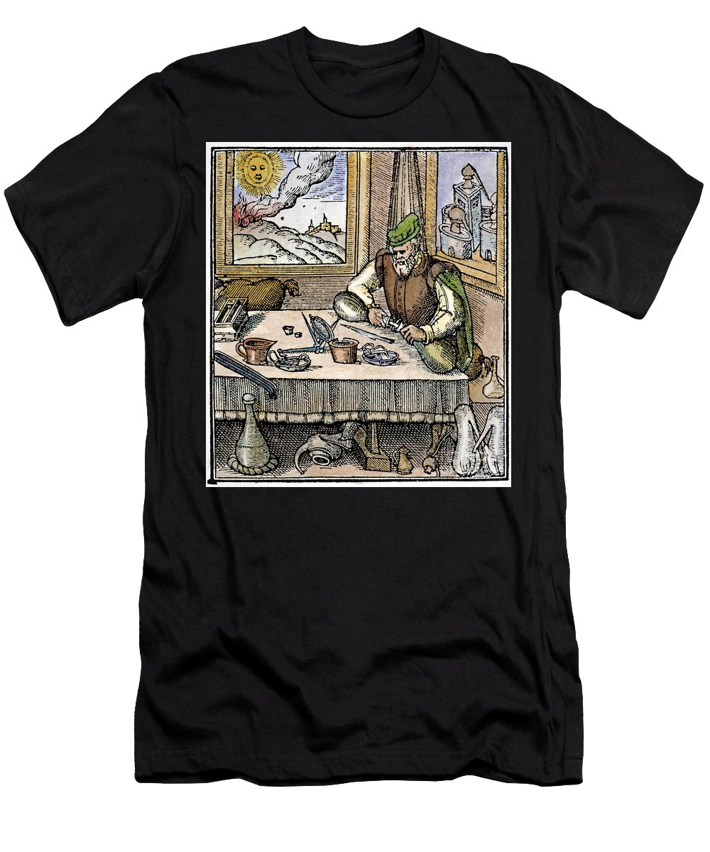 1576 Men's T-Shirt (Athletic Fit) featuring the photograph Physician, 1576 by Granger