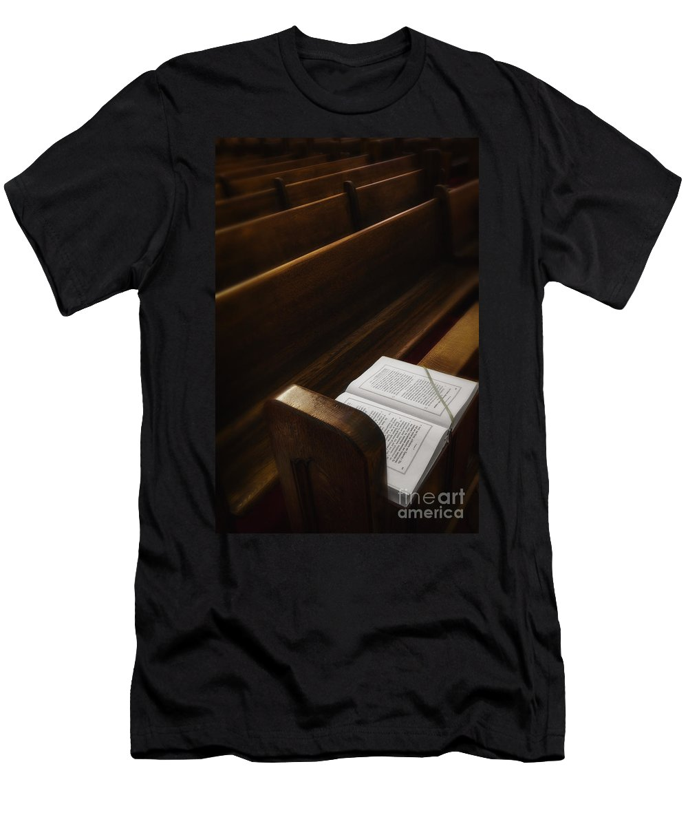Bible Men's T-Shirt (Athletic Fit) featuring the photograph Praise by Margie Hurwich