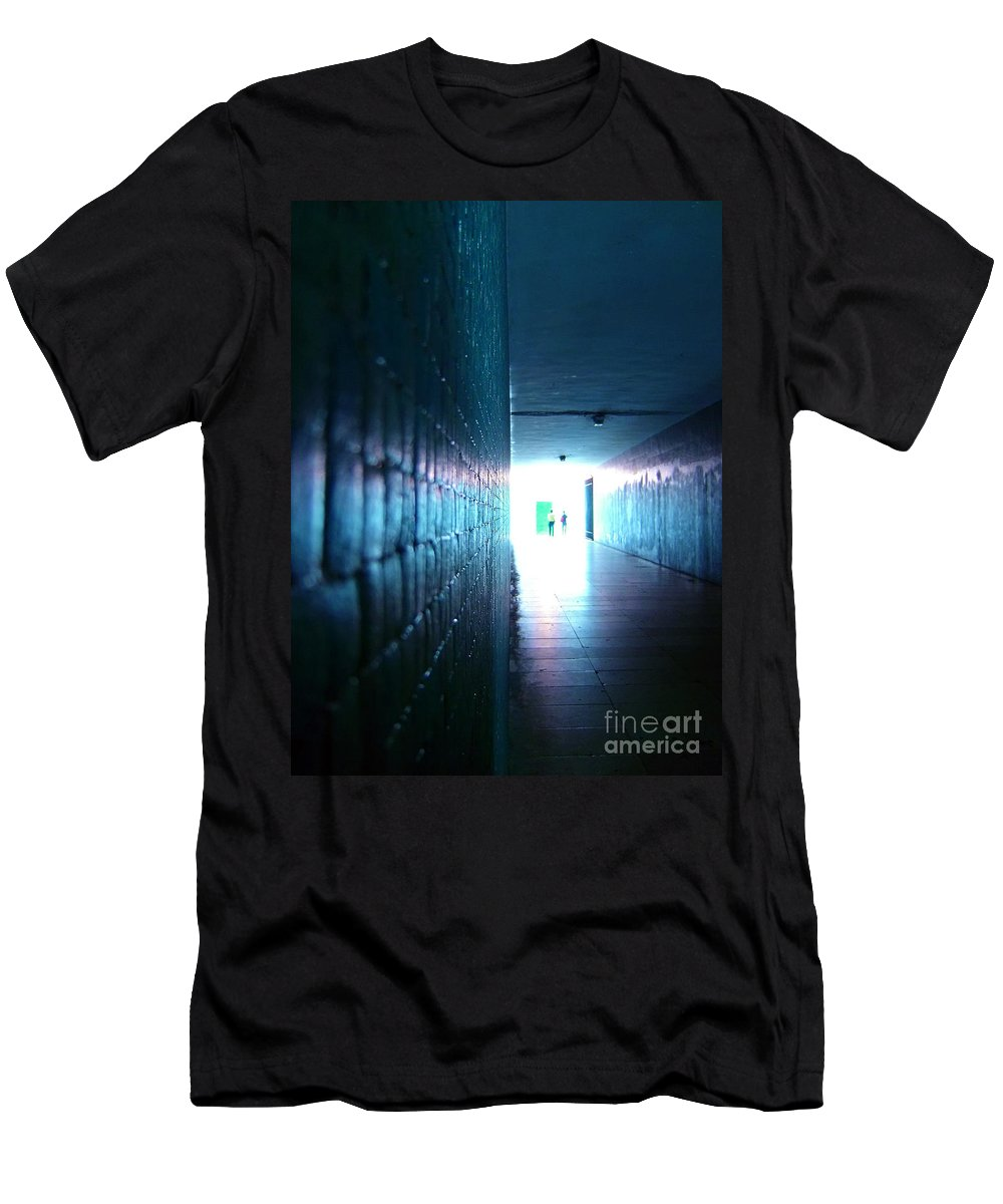 Light Men's T-Shirt (Athletic Fit) featuring the photograph Rebirth by Jose Elias - Sofia Pereira