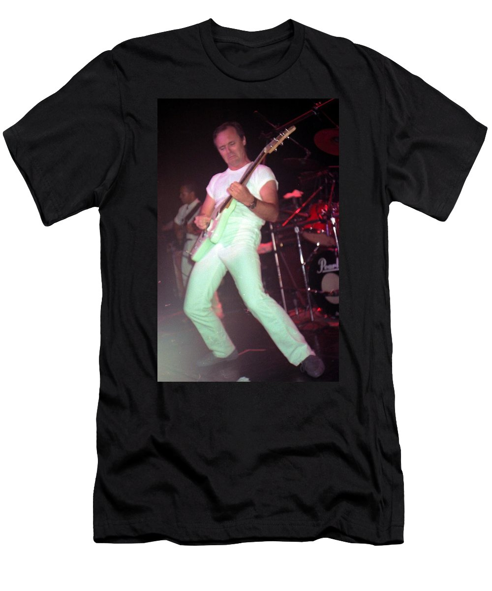Ronnie Montrose Men's T-Shirt (Athletic Fit) featuring the photograph Ronnie Montrose by Sheryl Chapman Photography