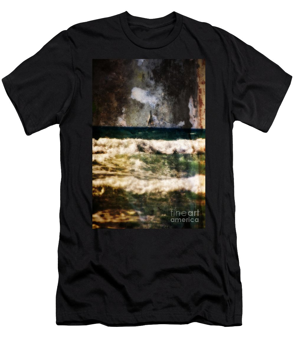 California Men's T-Shirt (Athletic Fit) featuring the photograph Sailing In California by Doc Braham