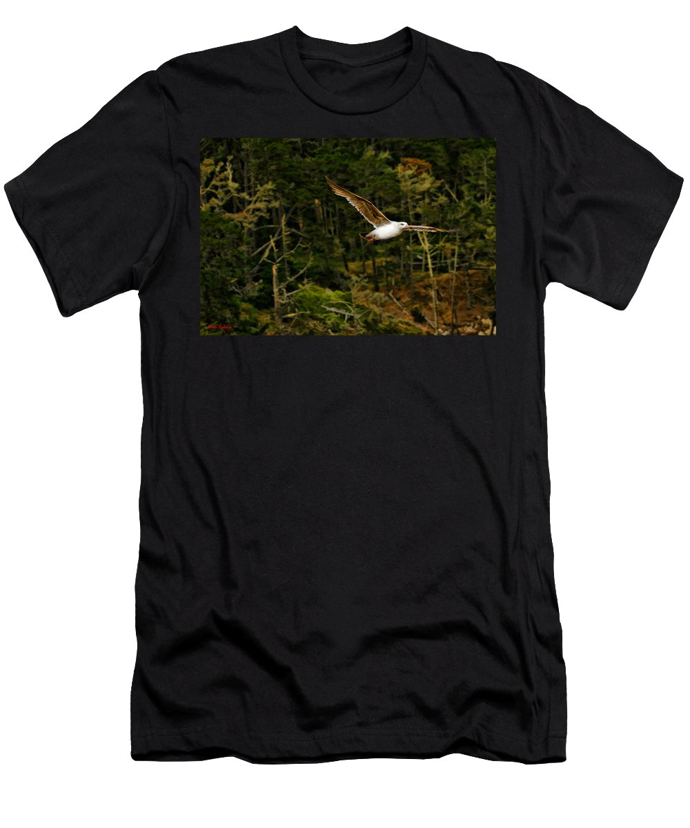 Girl Art Photography Men's T-Shirt (Athletic Fit) featuring the photograph Soaring by Blake Richards