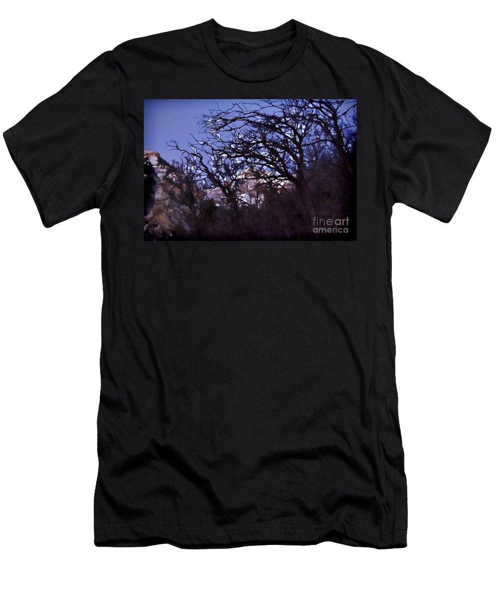 Sundance Aspen Men's T-Shirt (Athletic Fit) featuring the photograph Sundance Aspen-utah V3 by Douglas Barnard