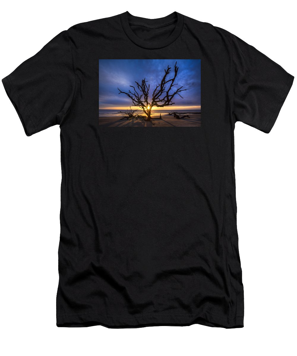Clouds T-Shirt featuring the photograph Sunrise Jewel by Debra and Dave Vanderlaan