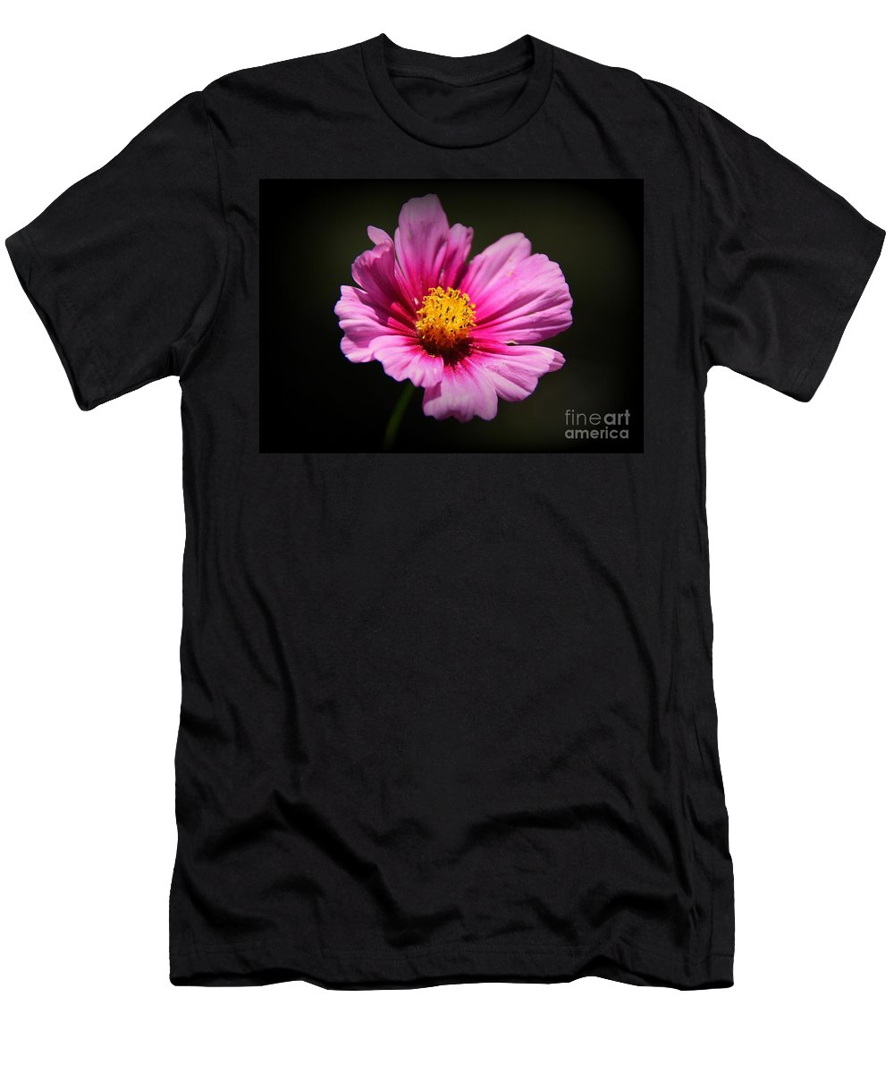 Wildflower Men's T-Shirt (Athletic Fit) featuring the photograph Wildflower by Lisa L Silva