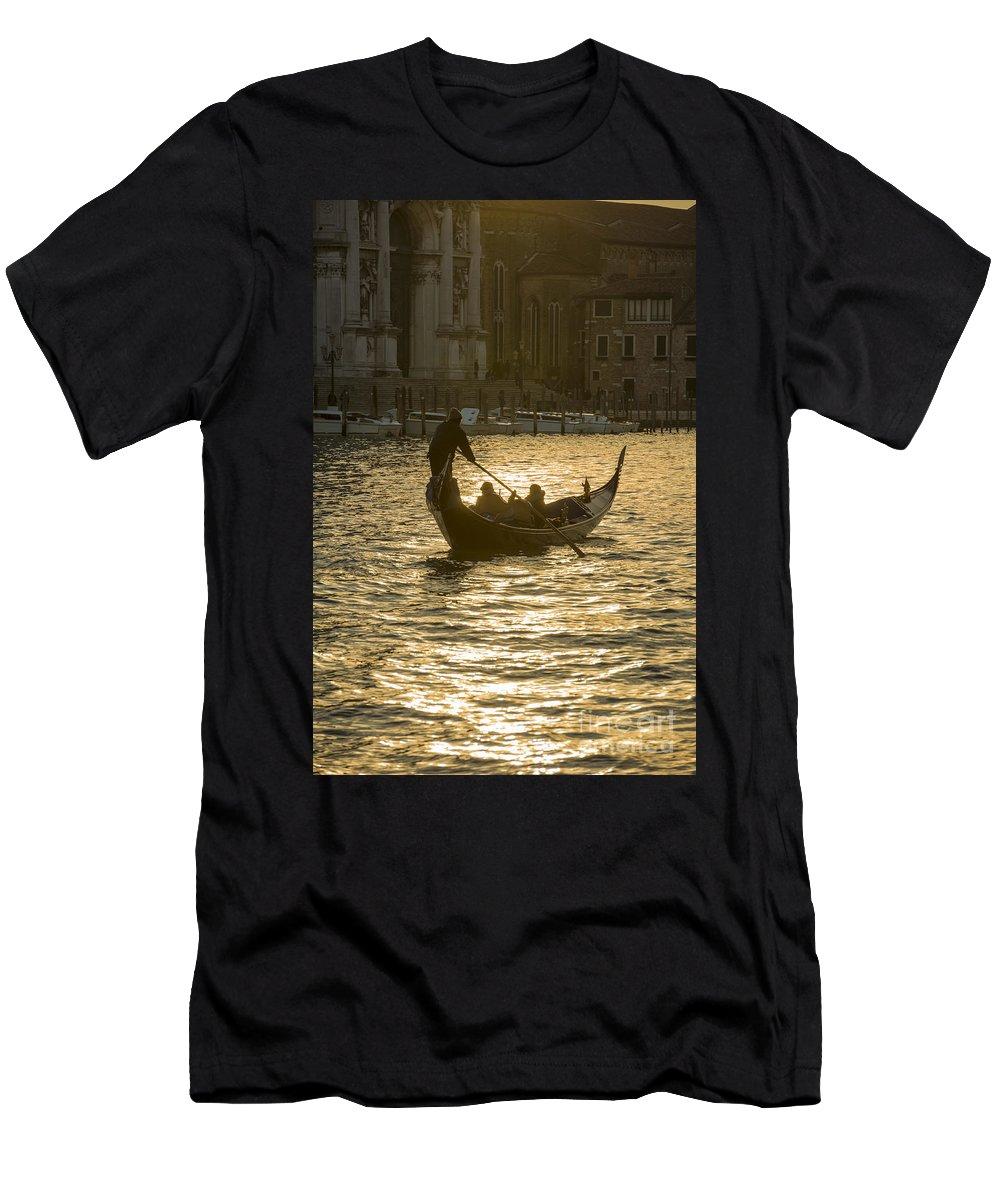 Gondola Men's T-Shirt (Athletic Fit) featuring the photograph Gondola by Mats Silvan