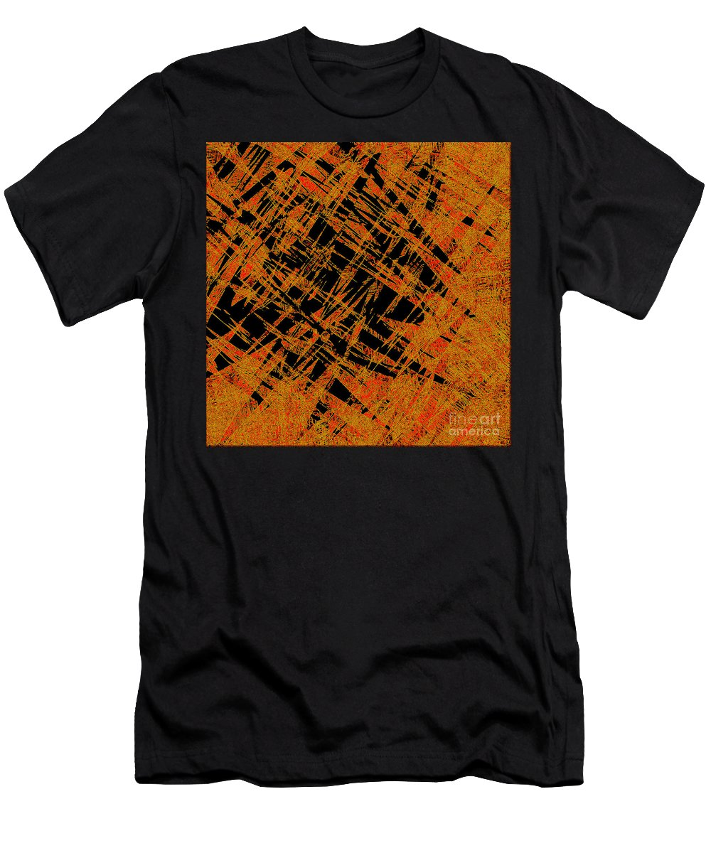 Abstract Men's T-Shirt (Athletic Fit) featuring the digital art 1126 Abstract Thought by Chowdary V Arikatla