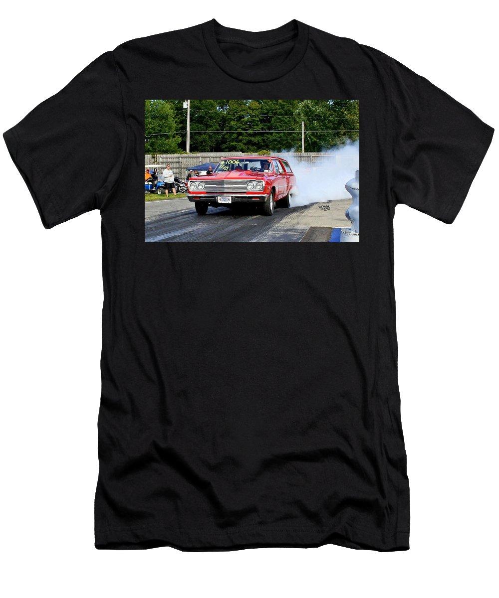 Esta Safety Park Men's T-Shirt (Athletic Fit) featuring the photograph Esta Safety Park 09-14-14 by Vicki Hopper