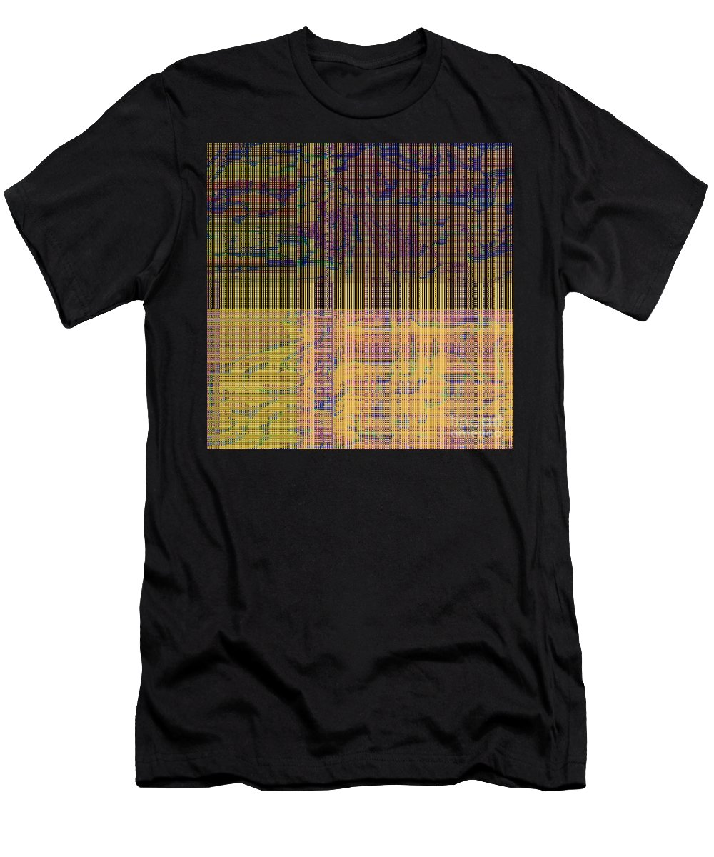 Abstract Men's T-Shirt (Athletic Fit) featuring the digital art 1319 Abstract Thought by Chowdary V Arikatla
