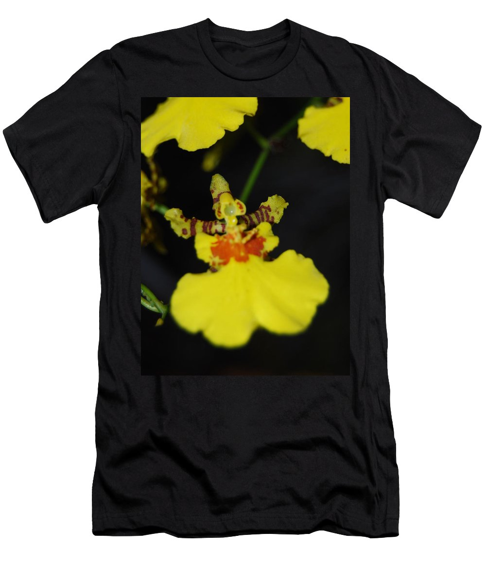 Dancing Lady Men's T-Shirt (Athletic Fit) featuring the photograph Orchid by Robert Floyd