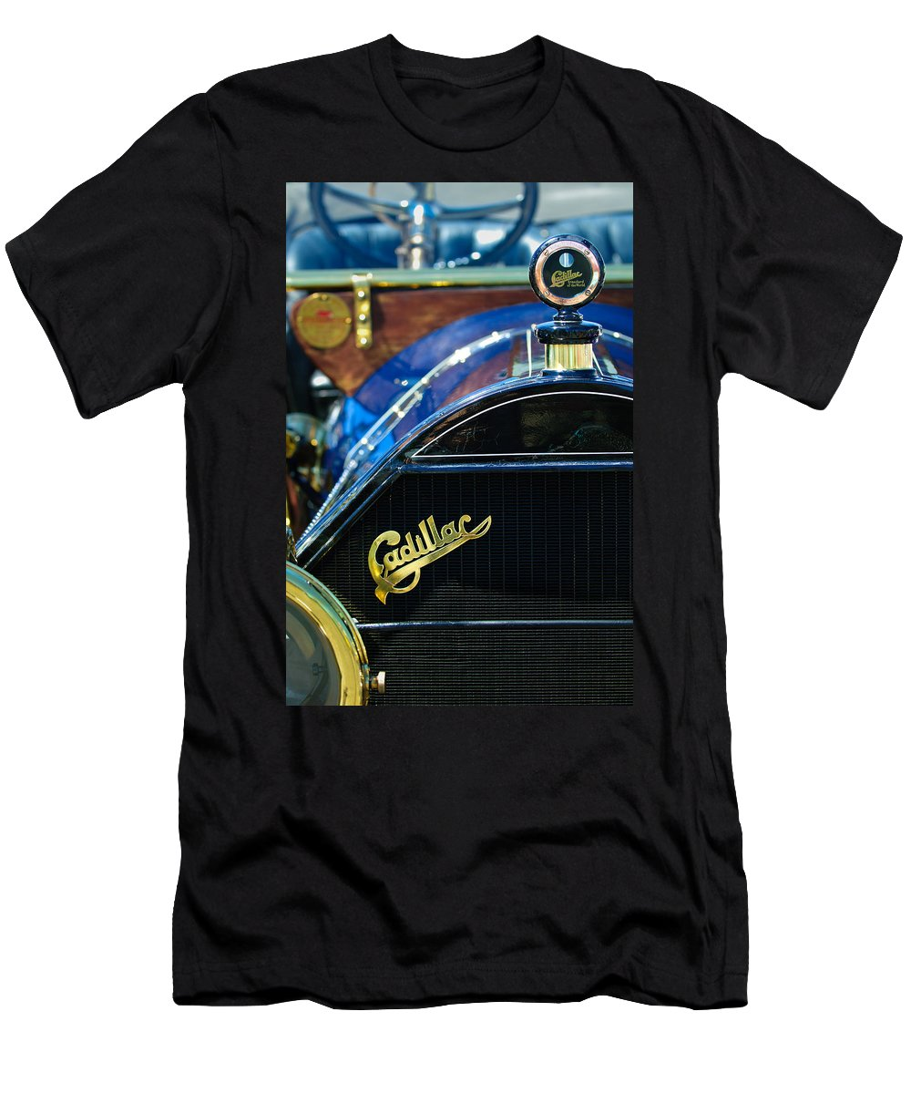 1911 Cadillac Men's T-Shirt (Athletic Fit) featuring the photograph 1911 Cadillac Roadster by Jill Reger