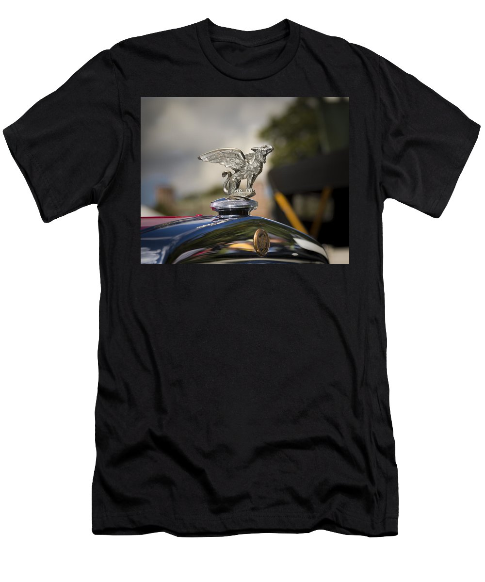 Antique Men's T-Shirt (Athletic Fit) featuring the photograph 1928 Gardner Model 8-85 Sport Roadster by Jack R Perry