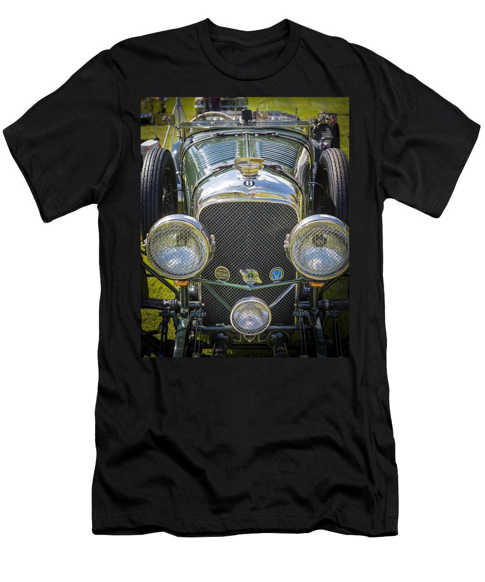 Antique Men's T-Shirt (Athletic Fit) featuring the photograph 1936 Bentley 4.5 Litre Lemans Rc Series by Jack R Perry
