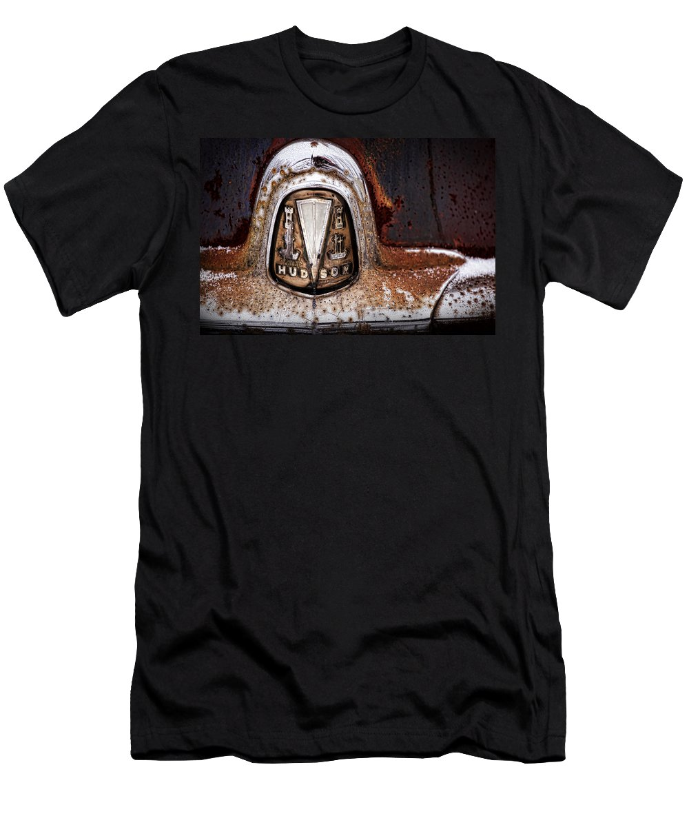Wasp Men's T-Shirt (Athletic Fit) featuring the photograph 1946 Hudson Coupe by Gordon Dean II