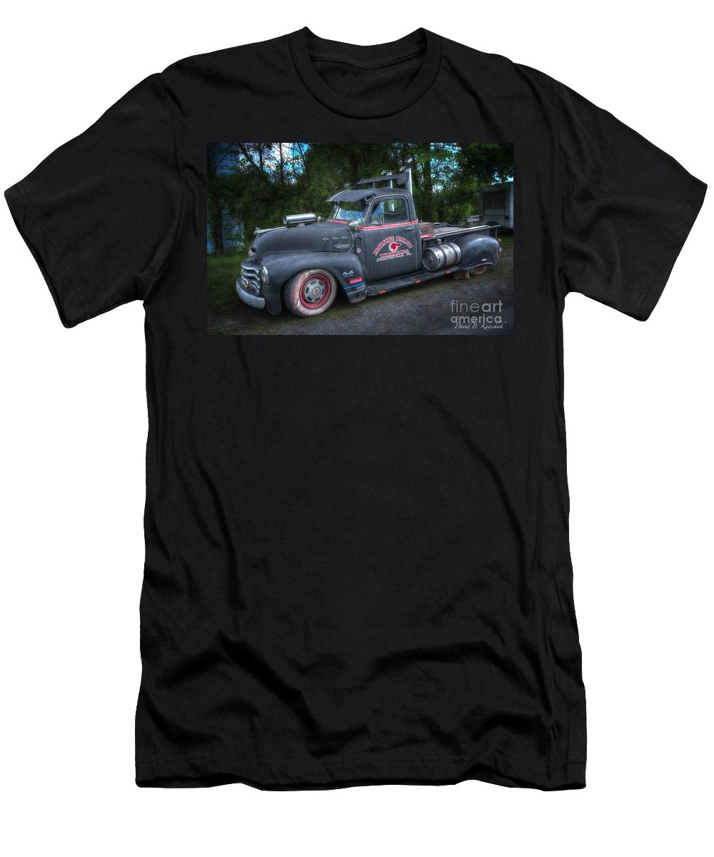 1952 Chevy Pickup Men's T-Shirt (Athletic Fit) featuring the photograph 1952 Chevy Pickup by David B Kawchak Custom Classic Photography