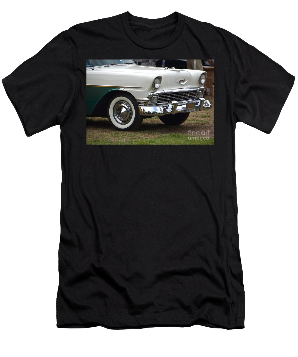 Men's T-Shirt (Athletic Fit) featuring the photograph 1956 Chevy Nomad by Dean Ferreira