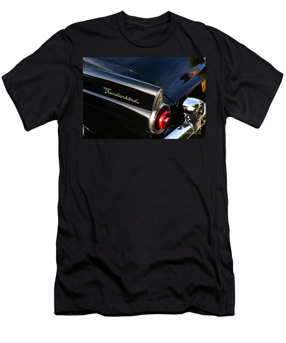 Paul Ward Men's T-Shirt (Athletic Fit) featuring the photograph 1955 Ford Thunderbird by Paul Ward