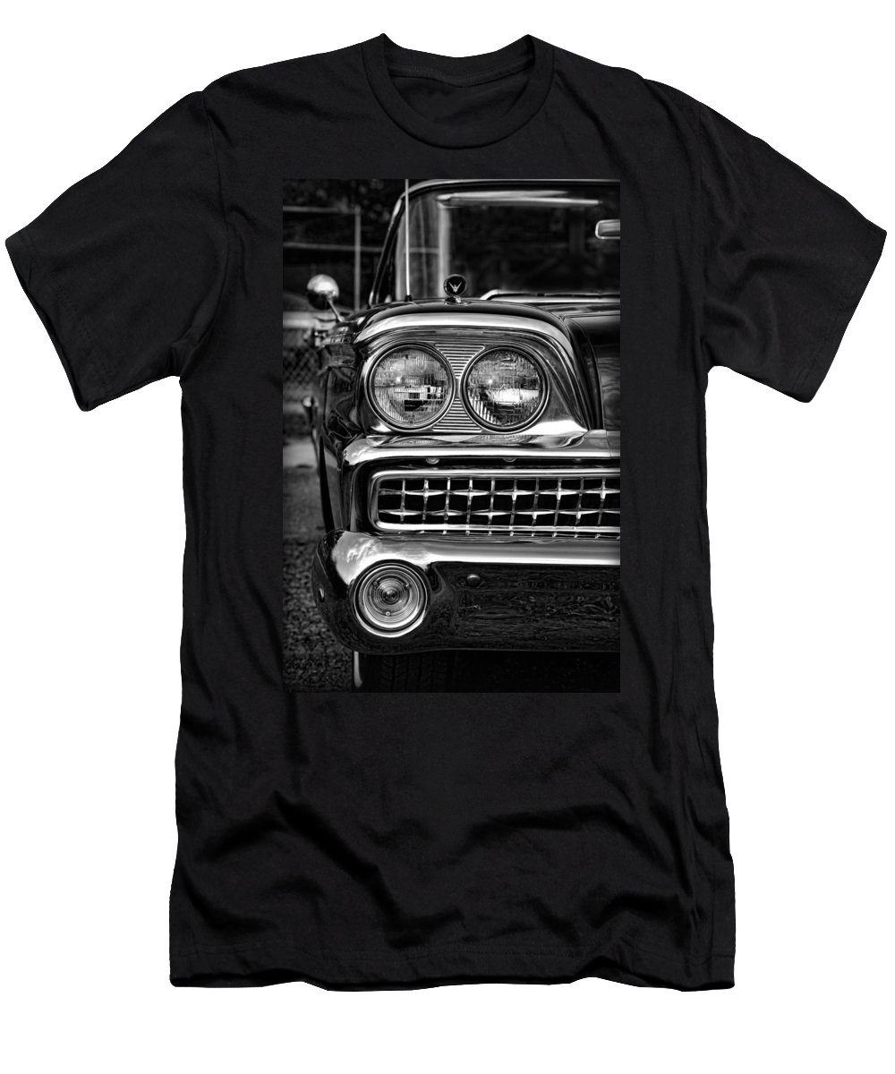 1959 Men's T-Shirt (Athletic Fit) featuring the photograph 1959 Ford Fairlane 500 by Gordon Dean II