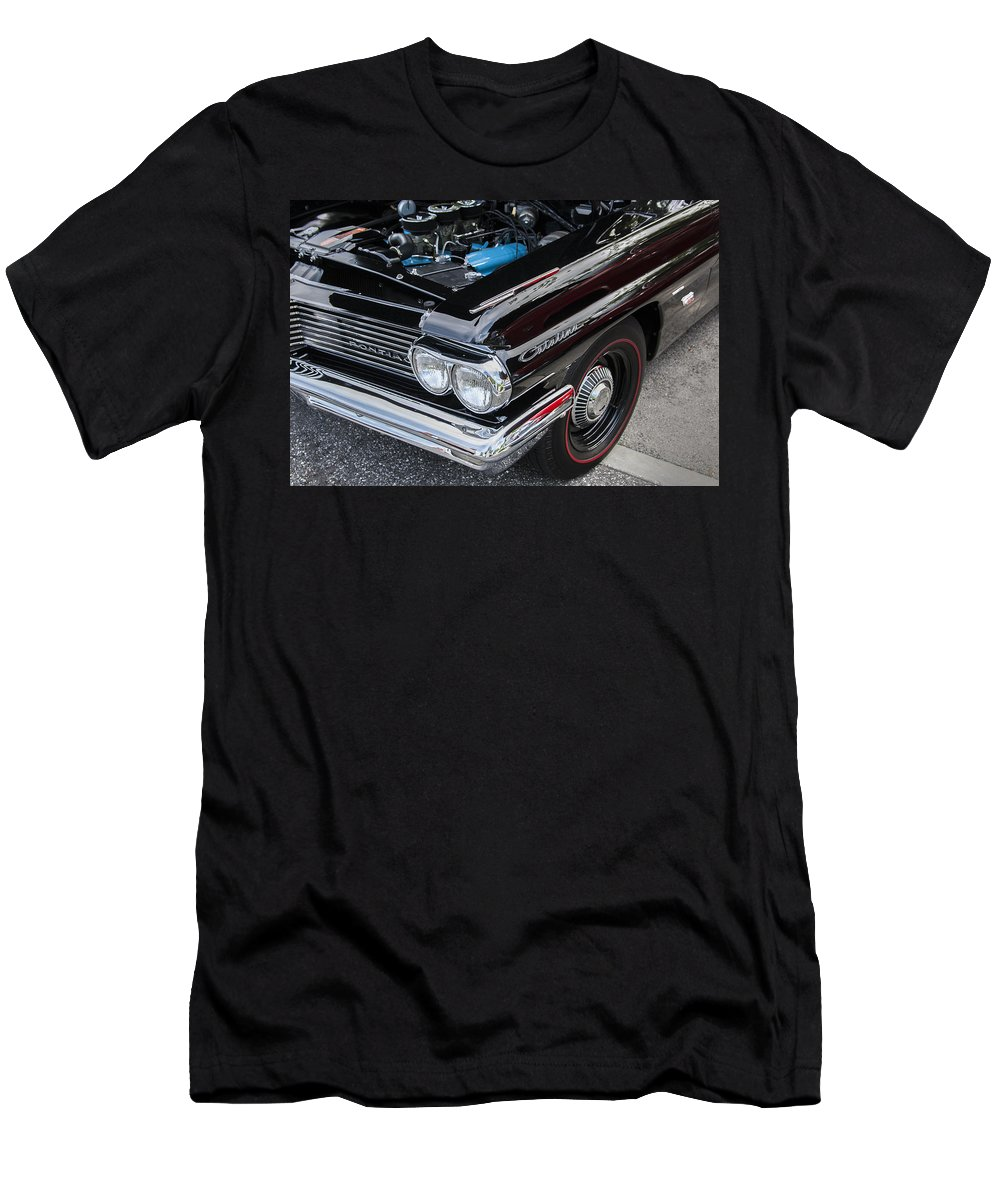 Pontiac Men's T-Shirt (Athletic Fit) featuring the photograph 1961 Pontiac Catalina 421 by Rich Franco