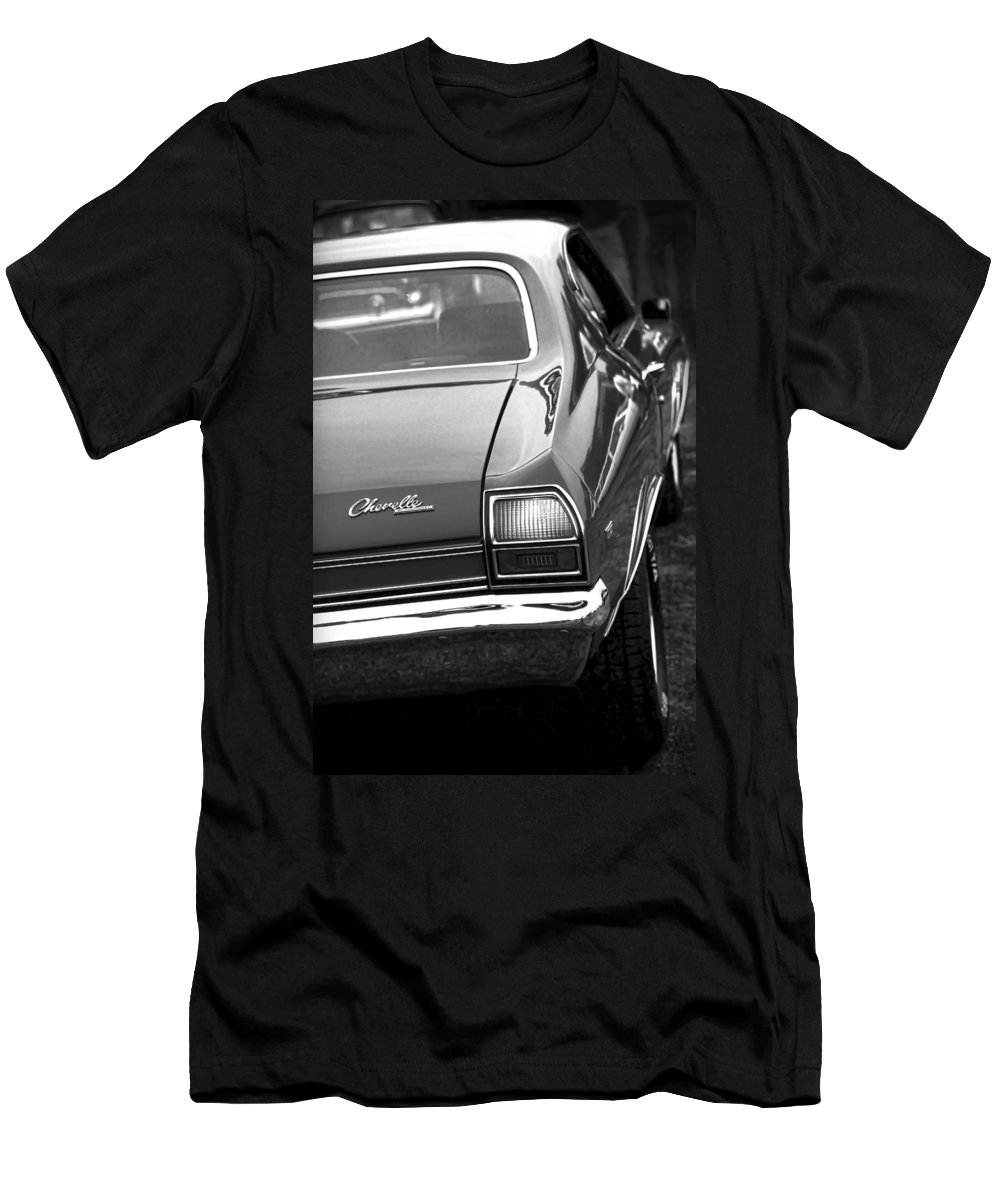 1969 Men's T-Shirt (Athletic Fit) featuring the photograph 1969 Chevrolet Chevelle Ss 396 by Gordon Dean II