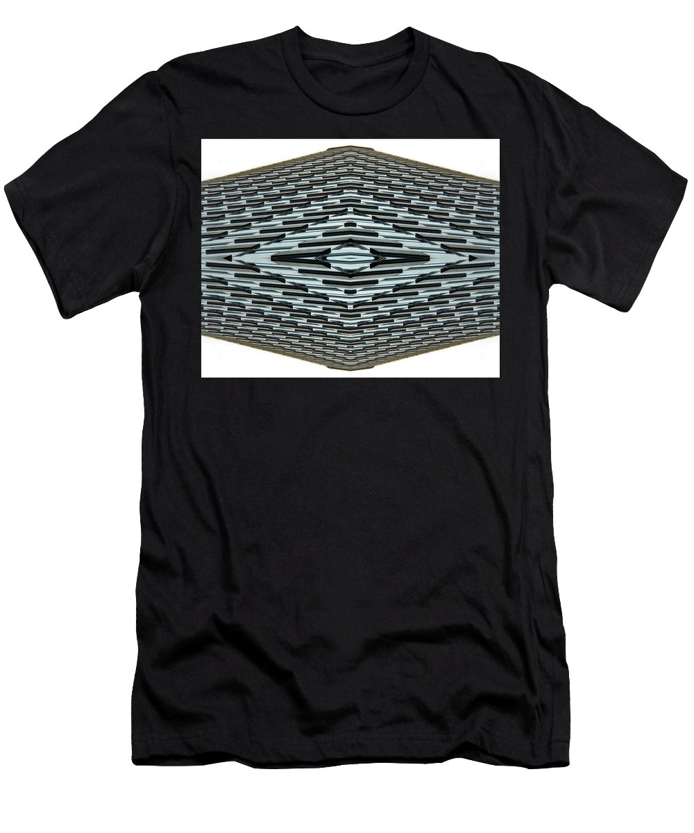 Original Men's T-Shirt (Athletic Fit) featuring the photograph Abstract Buildings 2 by J D Owen