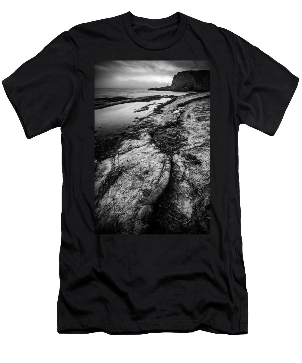 Panther Beach Men's T-Shirt (Athletic Fit) featuring the photograph Changing Tides by Dayne Reast