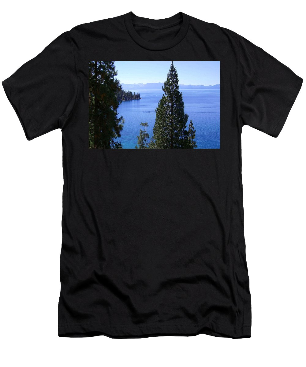 California Men's T-Shirt (Athletic Fit) featuring the photograph Lake Tahoe 4 by J D Owen