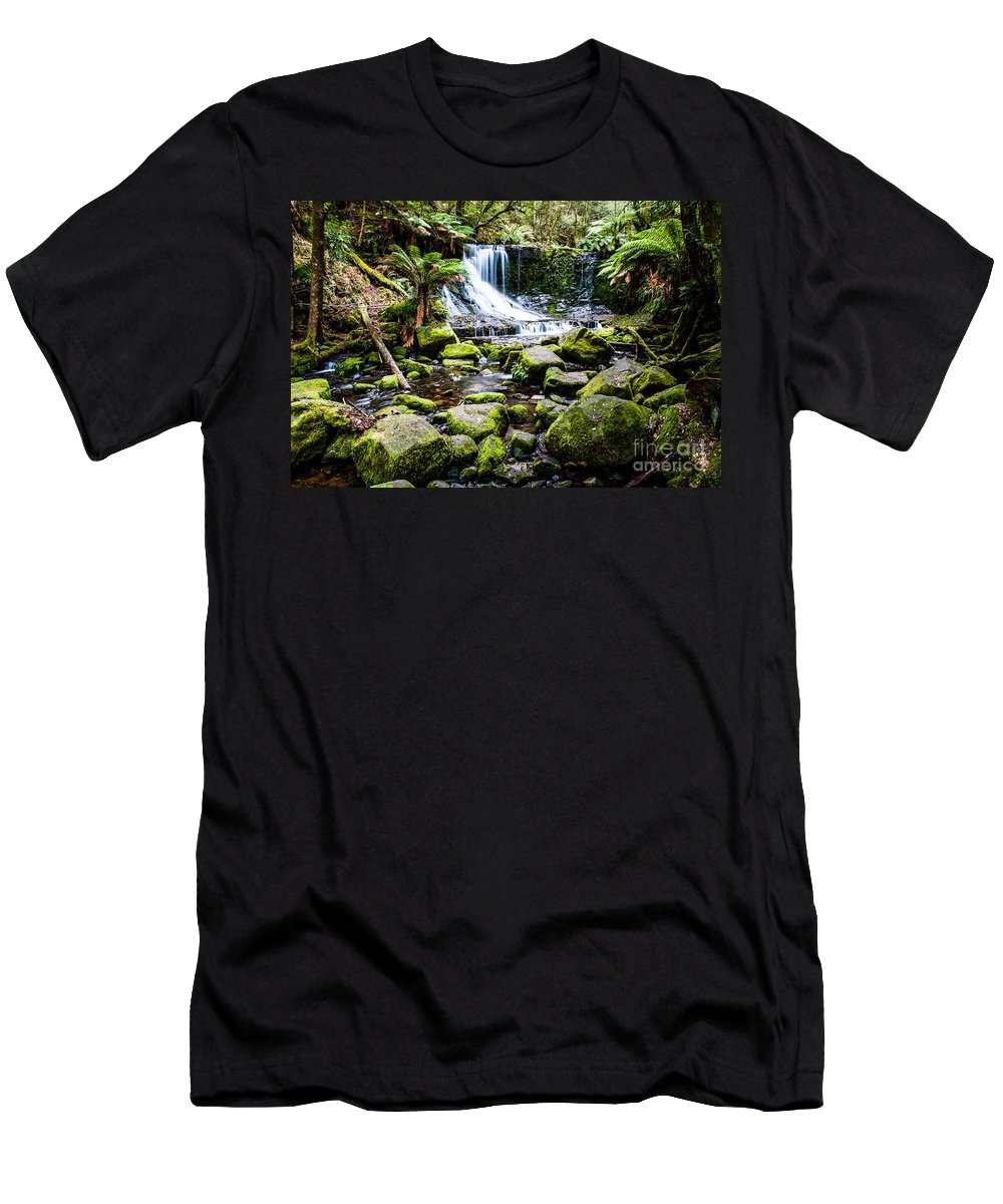 Australia Men's T-Shirt (Athletic Fit) featuring the photograph Mt Field National Park by Mariusz Prusaczyk