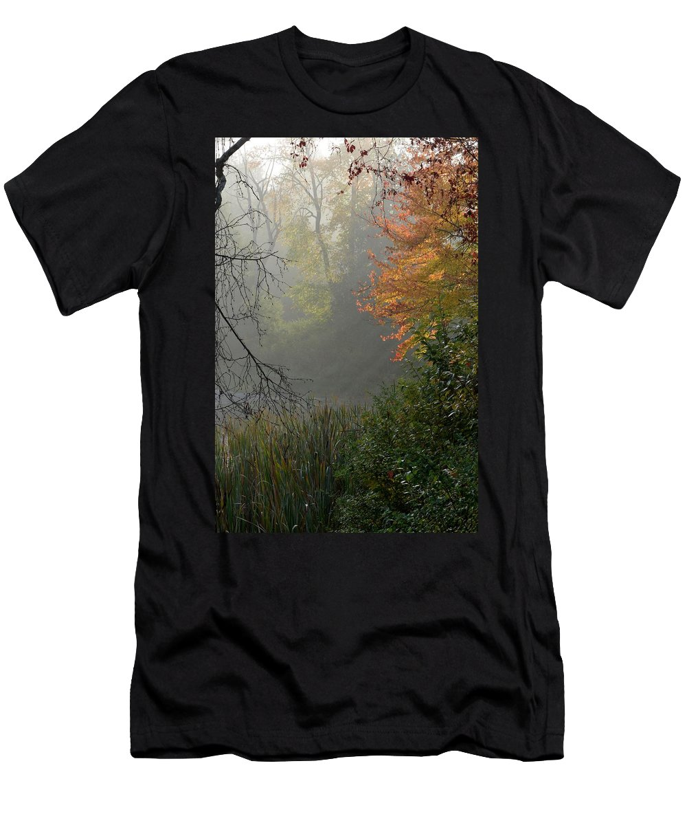Sun Men's T-Shirt (Athletic Fit) featuring the photograph Rays by Thomas Phillips