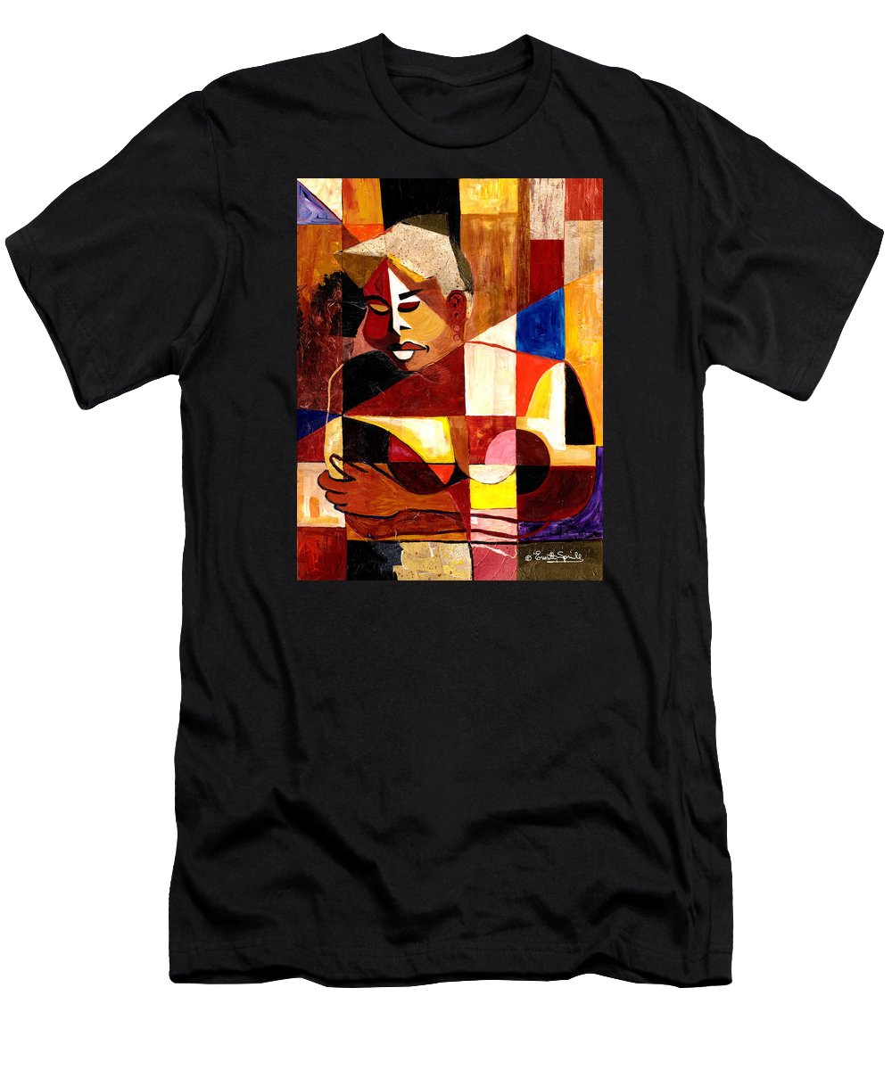 Everett Spruill T-Shirt featuring the painting The Matriarch - Take 2 by Everett Spruill