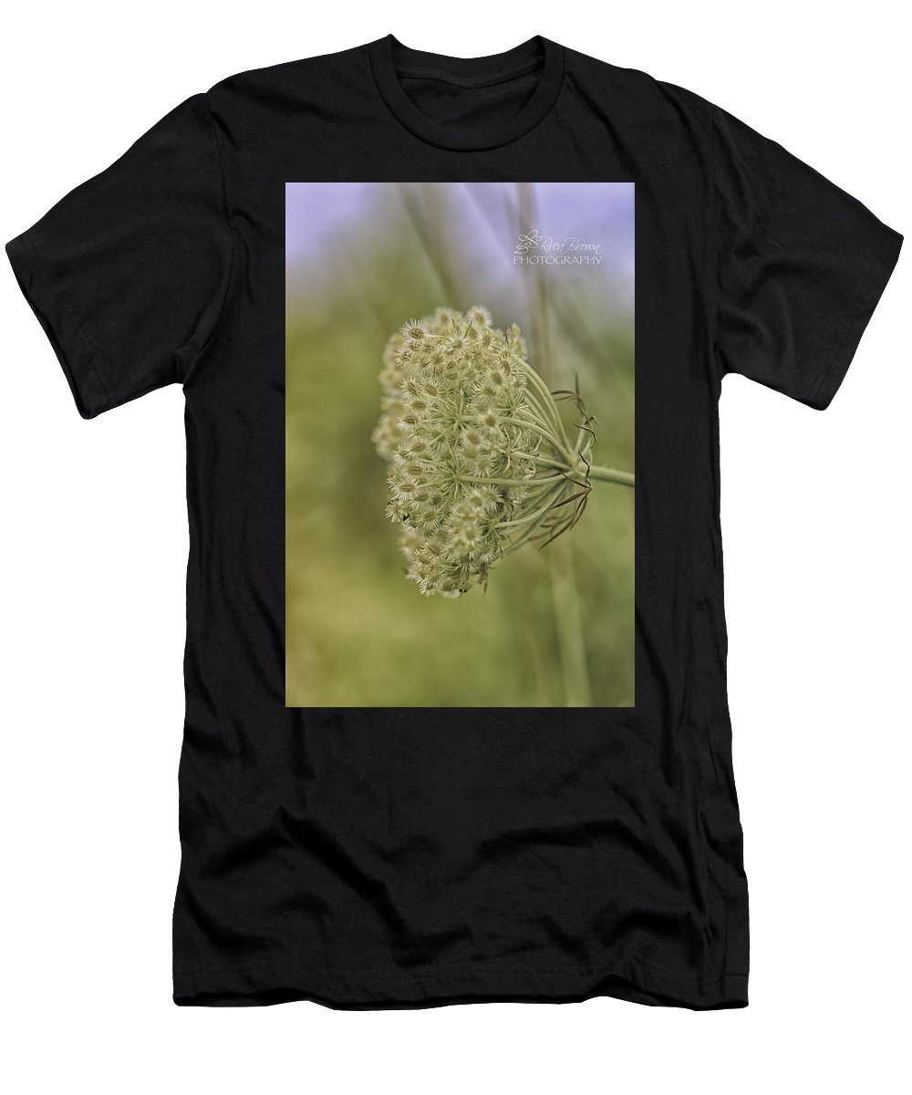 Wild Flower Men's T-Shirt (Athletic Fit) featuring the photograph 233 by Rrea Brown