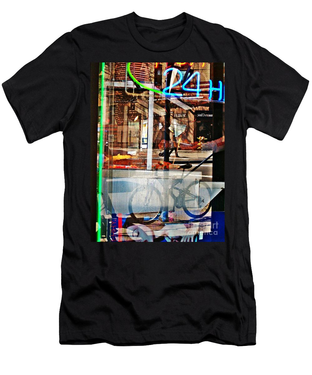 24 Hours Men's T-Shirt (Athletic Fit) featuring the photograph 24 Hours by Sarah Loft