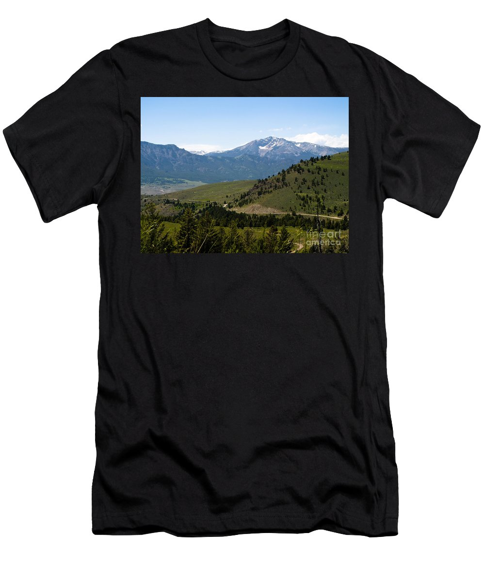 Montana Men's T-Shirt (Athletic Fit) featuring the photograph Euphorbic Marginata 5 by Tara Lynn