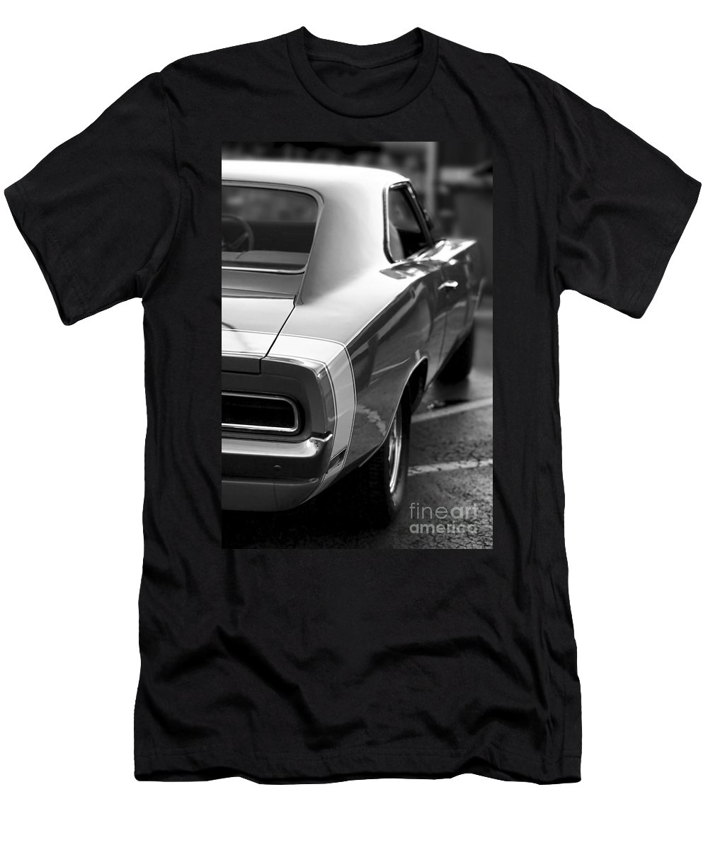 1968 Men's T-Shirt (Athletic Fit) featuring the photograph 1969 Dodge Charger by Gordon Dean II
