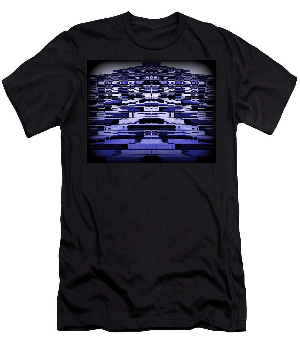 Original Men's T-Shirt (Athletic Fit) featuring the photograph Abstract 121 by J D Owen