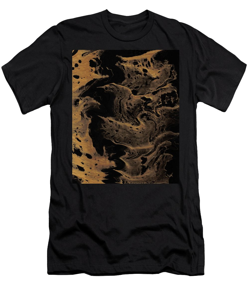 Original Men's T-Shirt (Athletic Fit) featuring the painting Abstract 24 by J D Owen