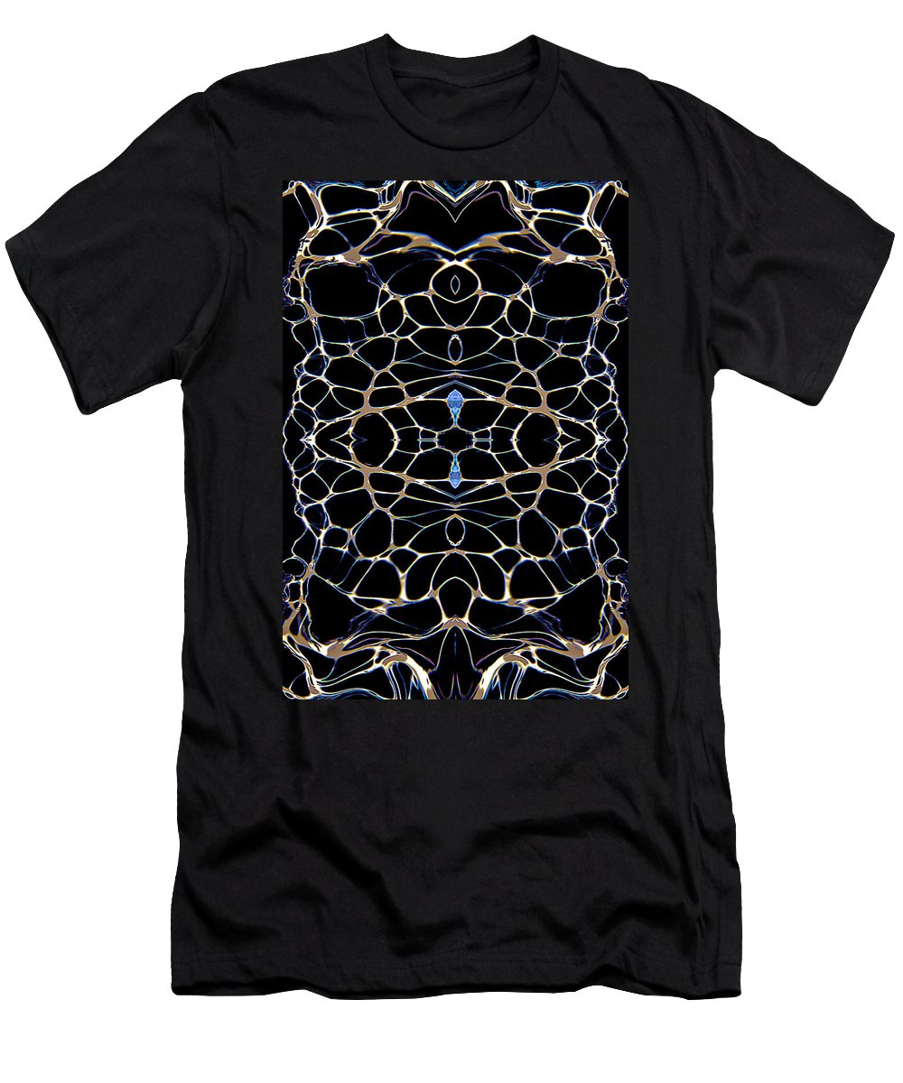 Original Men's T-Shirt (Athletic Fit) featuring the painting Abstract 63 by J D Owen